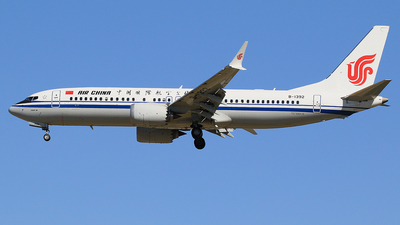 B-1392 - Boeing 737-8 MAX - Air China