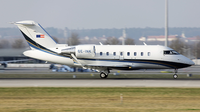 OE-INK - Bombardier CL-600-2B16 Challenger 605 - Transair
