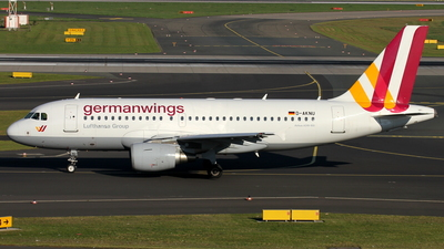 D-AKNU - Airbus A319-112 - Germanwings