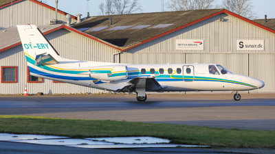 OY-ERY - Cessna 550 Citation II - Private