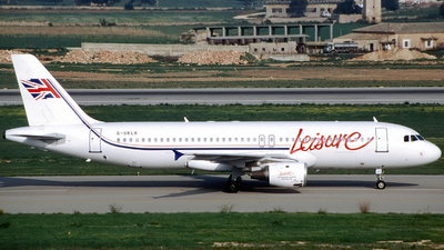 G-UKLK - Airbus A320-211 - Leisure International Airways