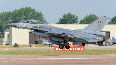 FA-129 - General Dynamics F-16AM Fighting Falcon - Belgium - Air Force