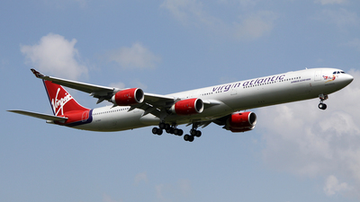 G-VSHY - Airbus A340-642 - Virgin Atlantic Airways