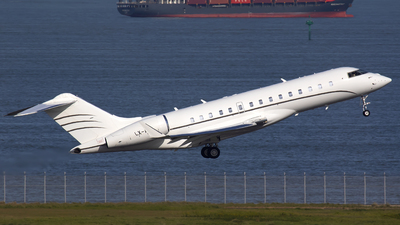 LX-ABC - Bombardier BD-700-1A10 Global Express XRS - Global Jet Luxembourg