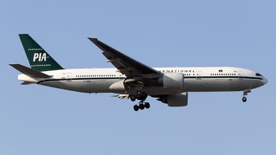 AP-BMG - Boeing 777-2Q8(ER) - Pakistan International Airlines (PIA)