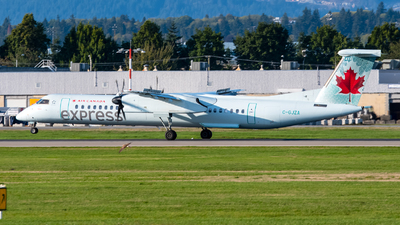 C-GJZA - Bombardier Dash 8-Q402 - Air Canada Express (Jazz Aviation)