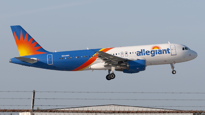 N244NV - Airbus A320-214 - Allegiant Air