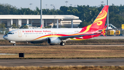 B-1729 - Boeing 737-84P - Hainan Airlines
