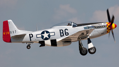 N551J - North American P-51D Mustang - Private