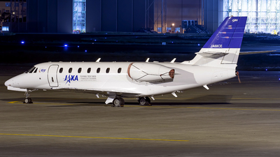 JA68CE - Cessna 680 Citation Sovereign - Japan - Aerospace Exploration Agency (JAXA)