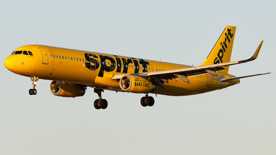 N667NK - Airbus A321-231 - Spirit Airlines