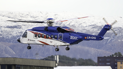LN-OIG - Sikorsky S-92A Helibus - Bristow Norway