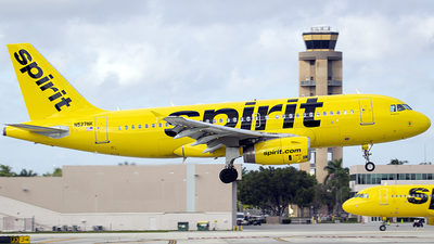 N527NK - Airbus A319-132 - Spirit Airlines