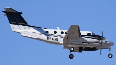 N843G - Beechcraft 200 Super King Air - Private