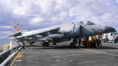 ZD581 - British Aerospace Sea Harrier F/A.2 - United Kingdom - Royal Navy