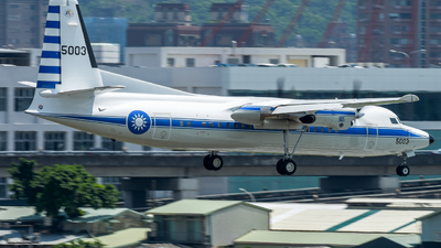5003 - Fokker 50 - Taiwan - Air Force