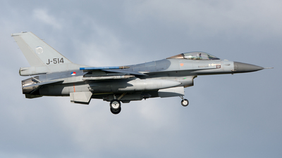 J-514 - General Dynamics F-16AM Fighting Falcon - Netherlands - Royal Air Force