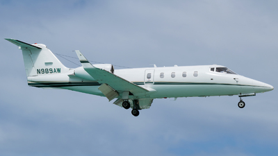 N989AW - Bombardier Learjet 55 - Private