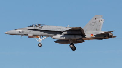 C.15-15 - McDonnell Douglas EF-18A+ Hornet - Spain - Air Force