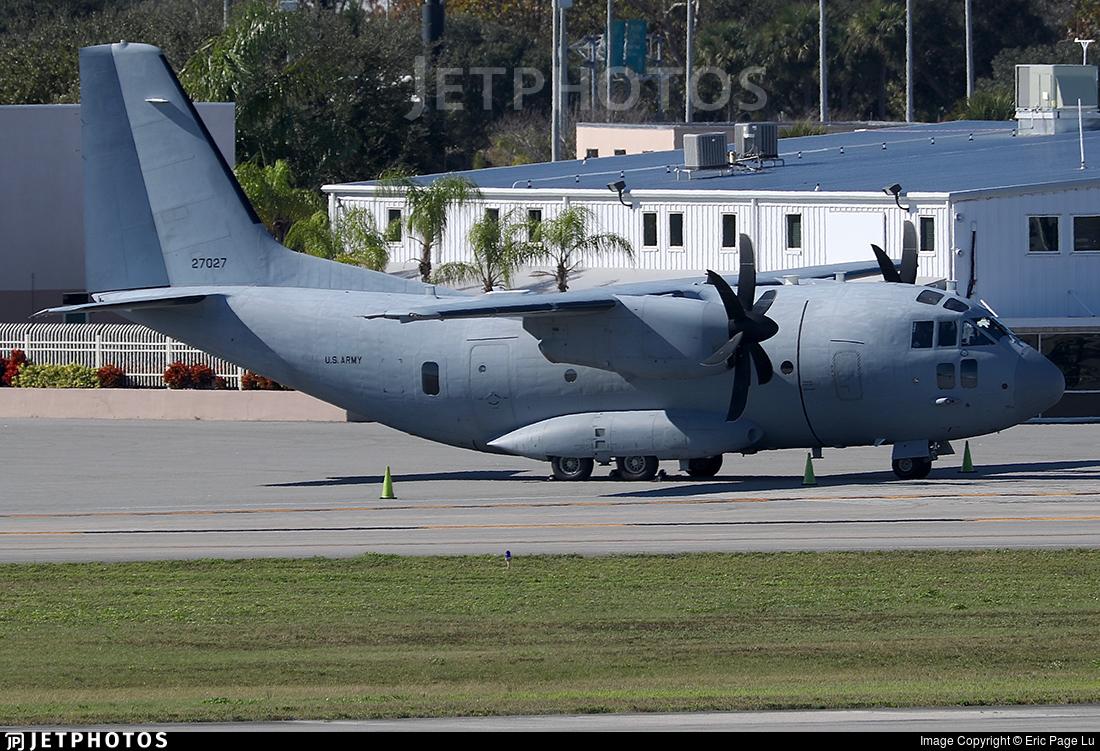 10-27027 - Alenia C-27J Spartan - United States - US Army