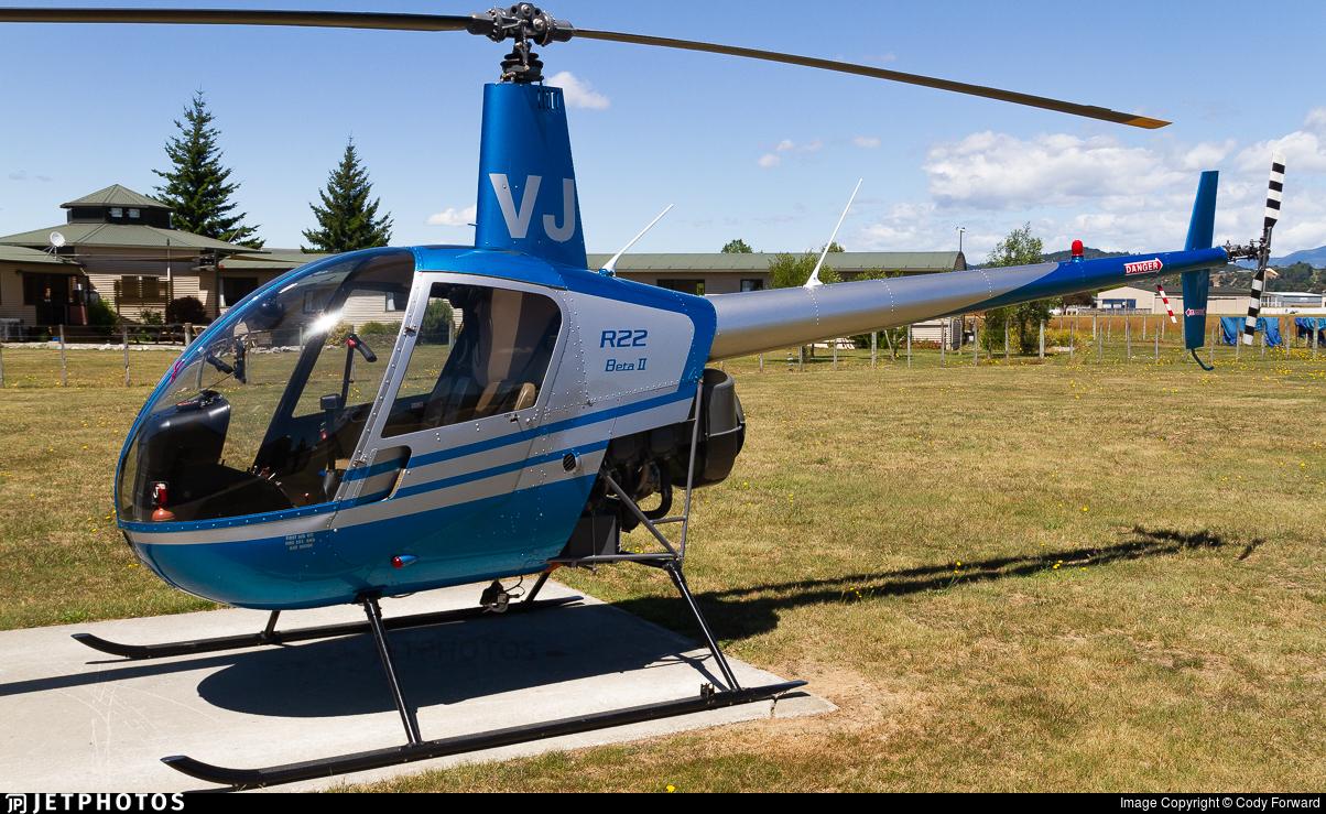 ZK-HVJ - Robinson R22 Beta II - Private