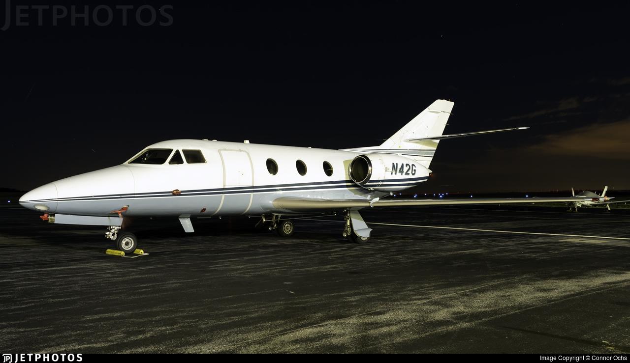 N42G - Dassault Falcon 10 - Private