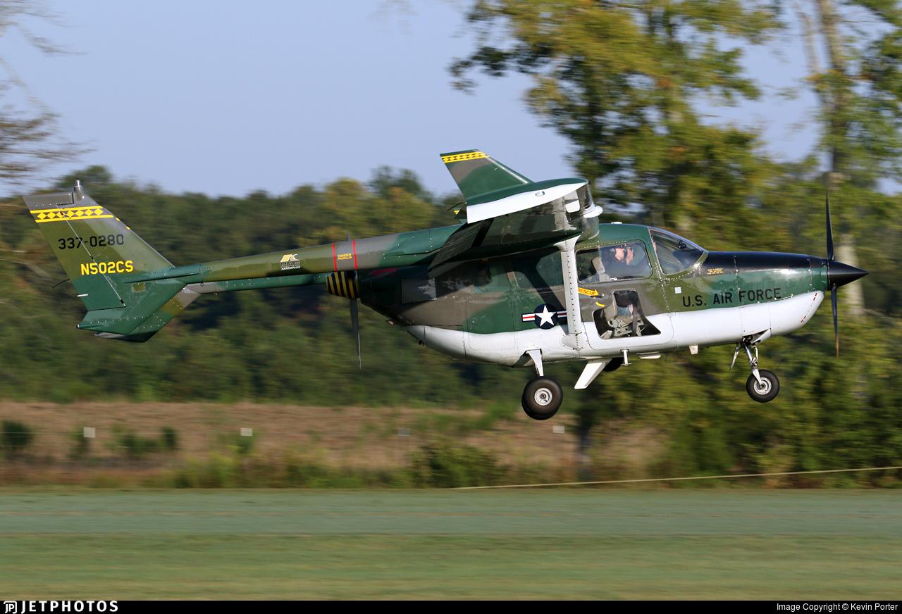 N502CS - Cessna 337A Super Skymaster - Private