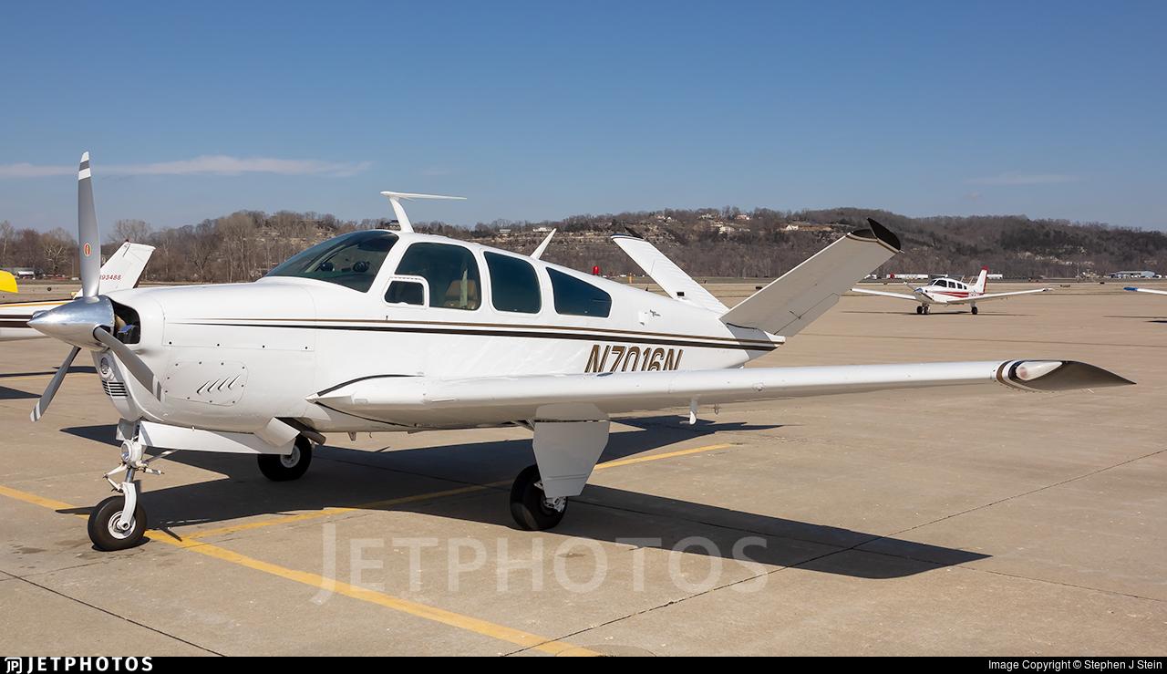 N7016N - Beechcraft V35A Bonanza - Private