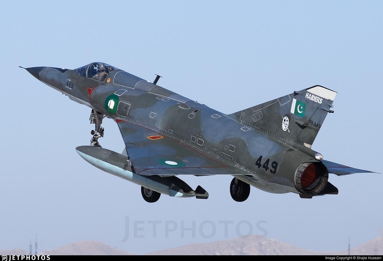 79-449 - Dassault Mirage 5PA3 - Pakistan - Air Force