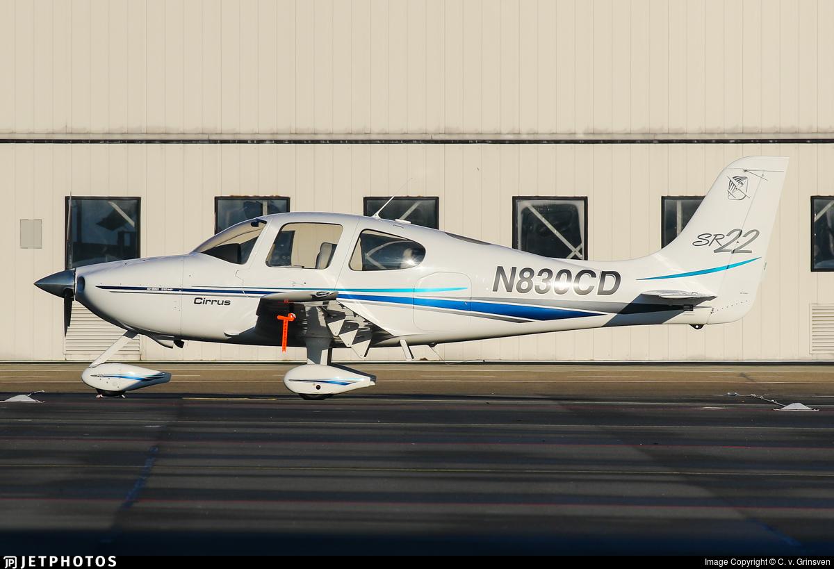 N830CD - Cirrus SR22 - Private