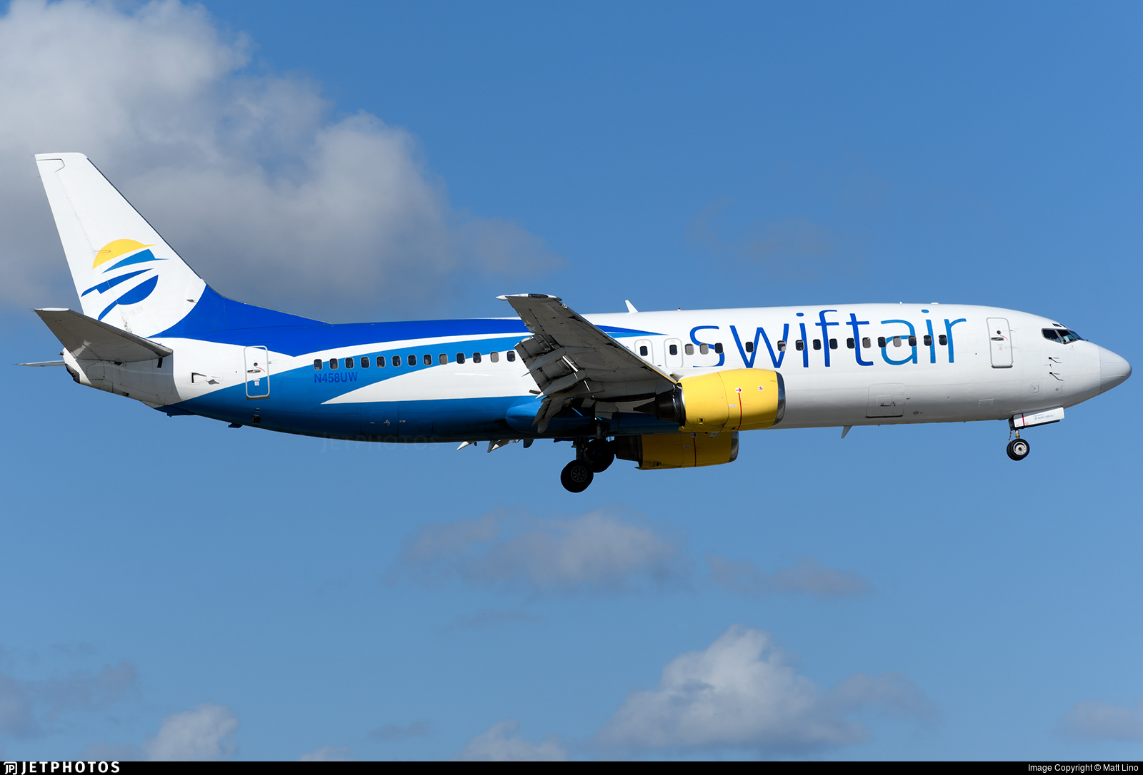 N458UW - Boeing 737-4B7 - Swift Air