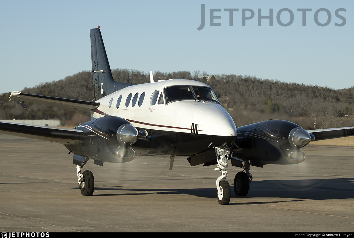 N85FD - Beechcraft C90GTi King Air - Private