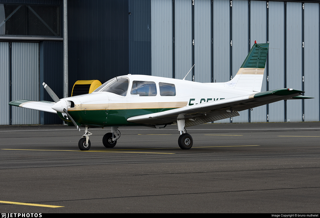 F-GFYT - Piper PA-28-161 Cadet - Private