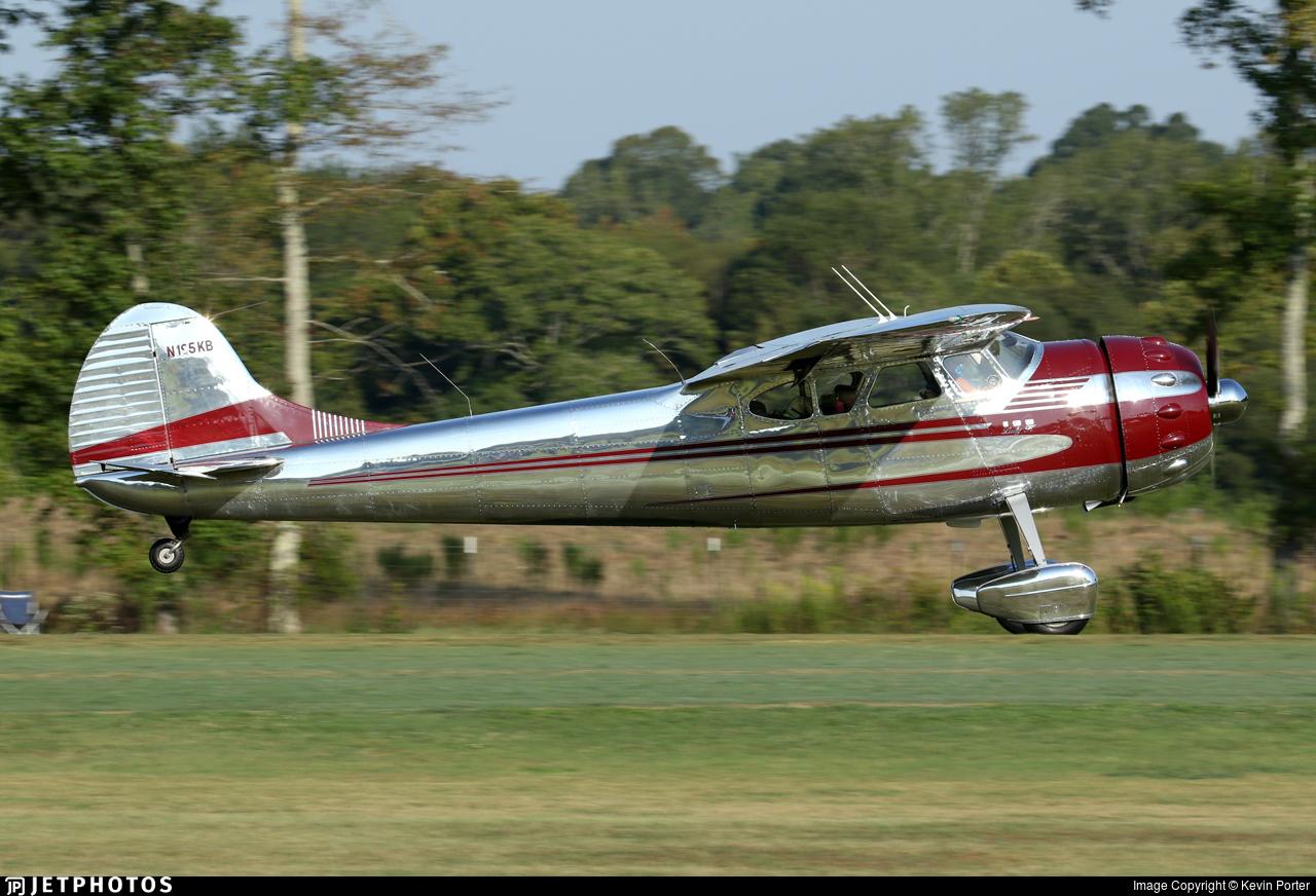 N195KB - Cessna 195 - Private