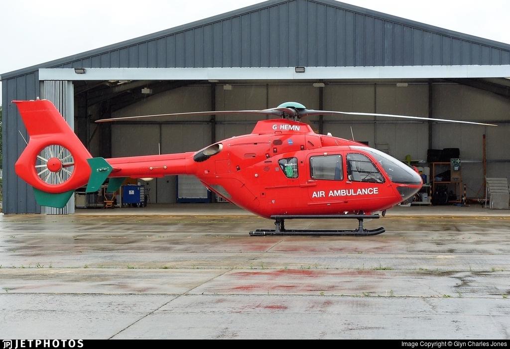 G-HEMN - Eurocopter EC 135T2+ - Babcock Mission Critical Services Onshore