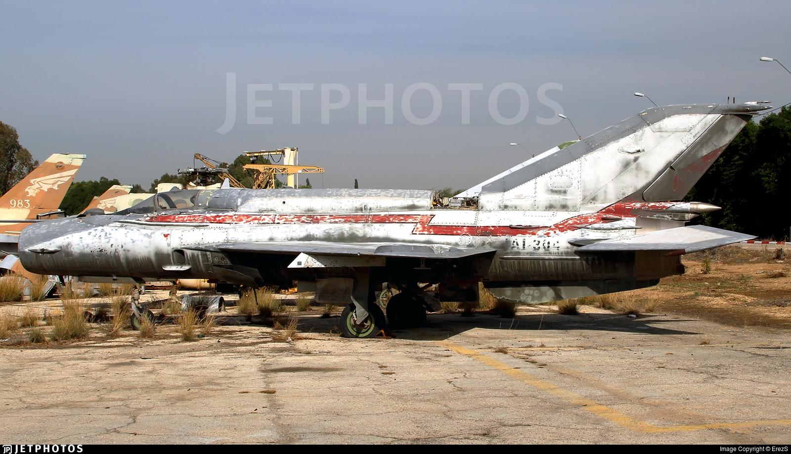 IAI304 - Mikoyan-Gurevich MiG-21bis Fishbed L - Israel Aerospace Industries (IAI)
