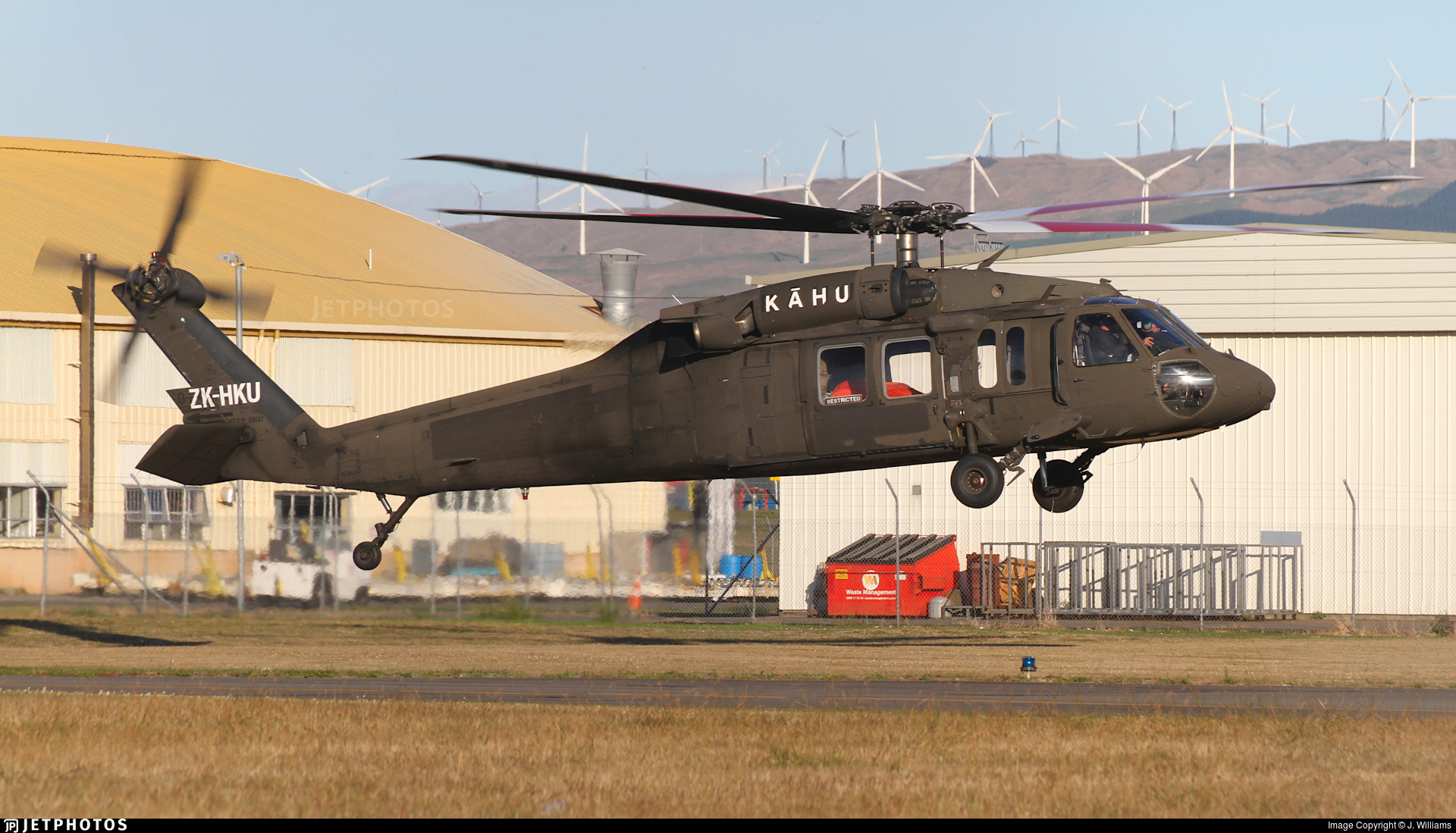 ZK-HKU - Sikorsky EH-60A Quick Fix - Frontier Helicopters