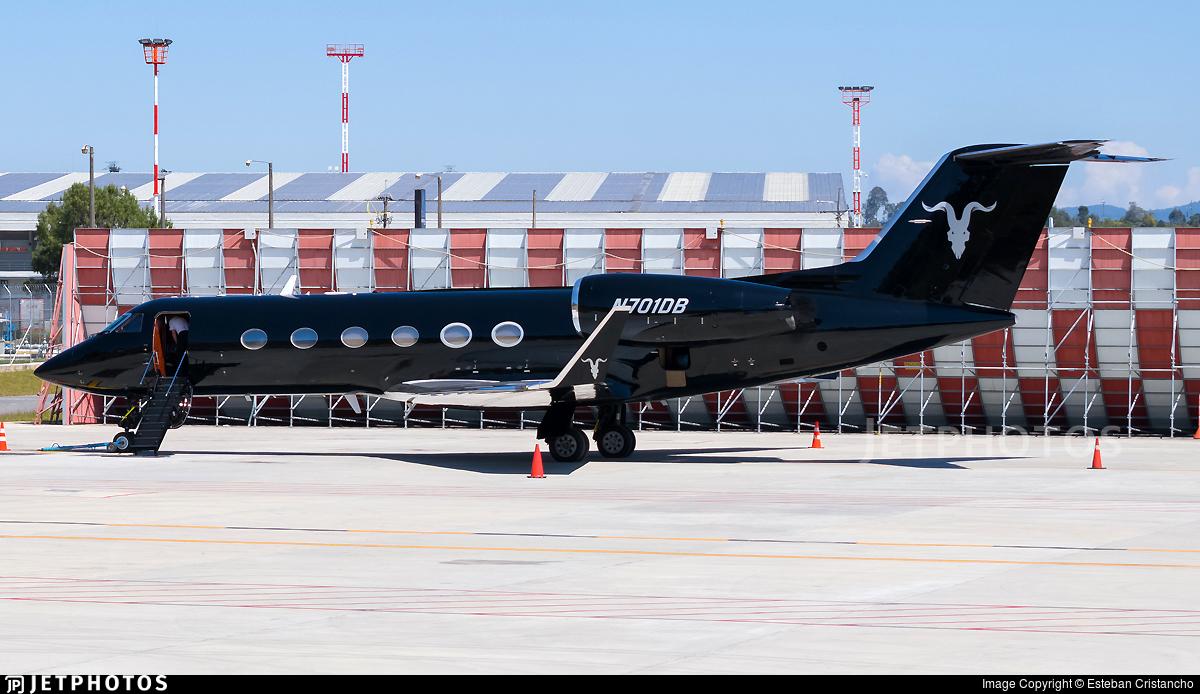 N701DB - Gulfstream G-IV - Private