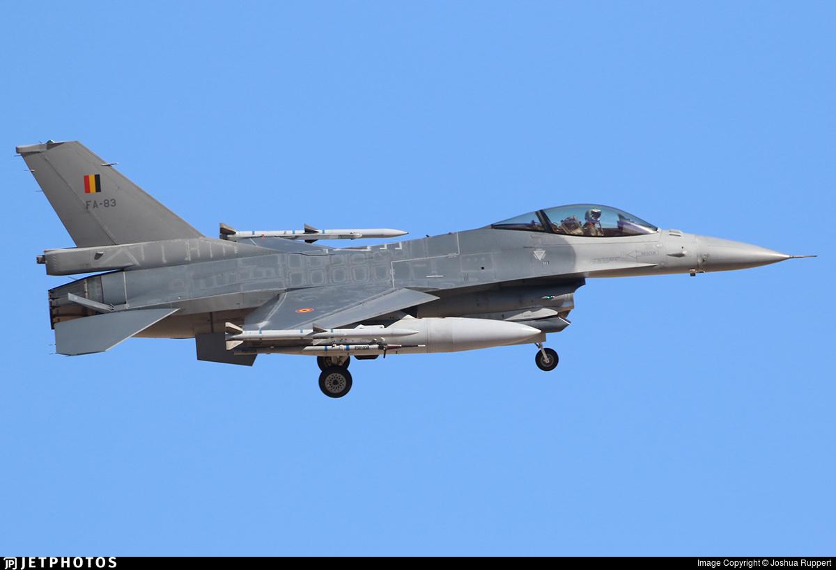 FA-83 - General Dynamics F-16AM Fighting Falcon - Belgium - Air Force