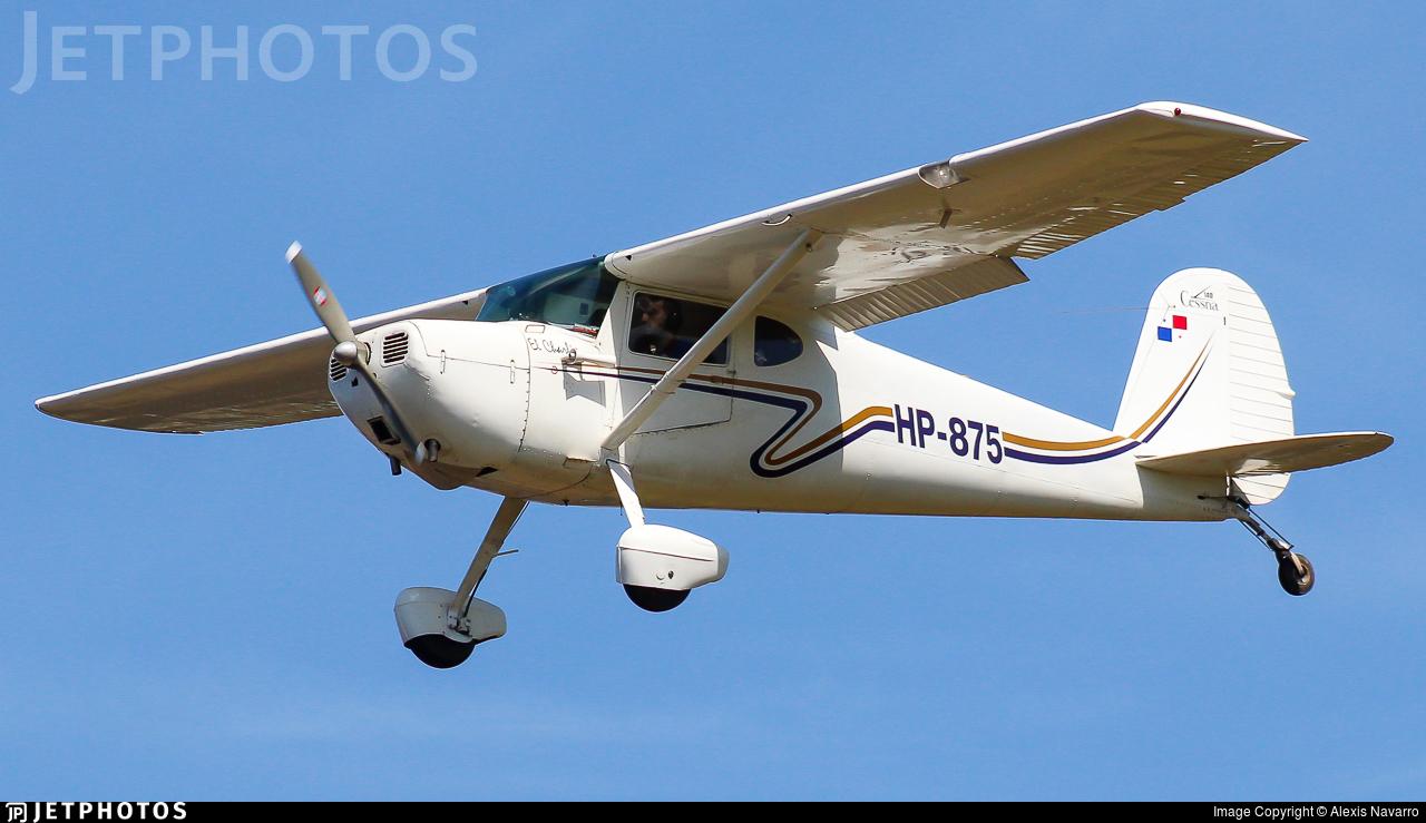 HP-875 - Cessna 140 - Private
