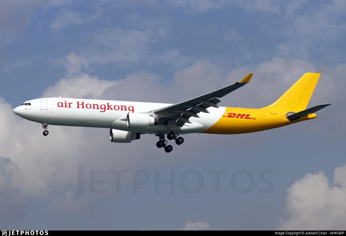 B-LDO - Airbus A330-322P2F - Air Hong Kong