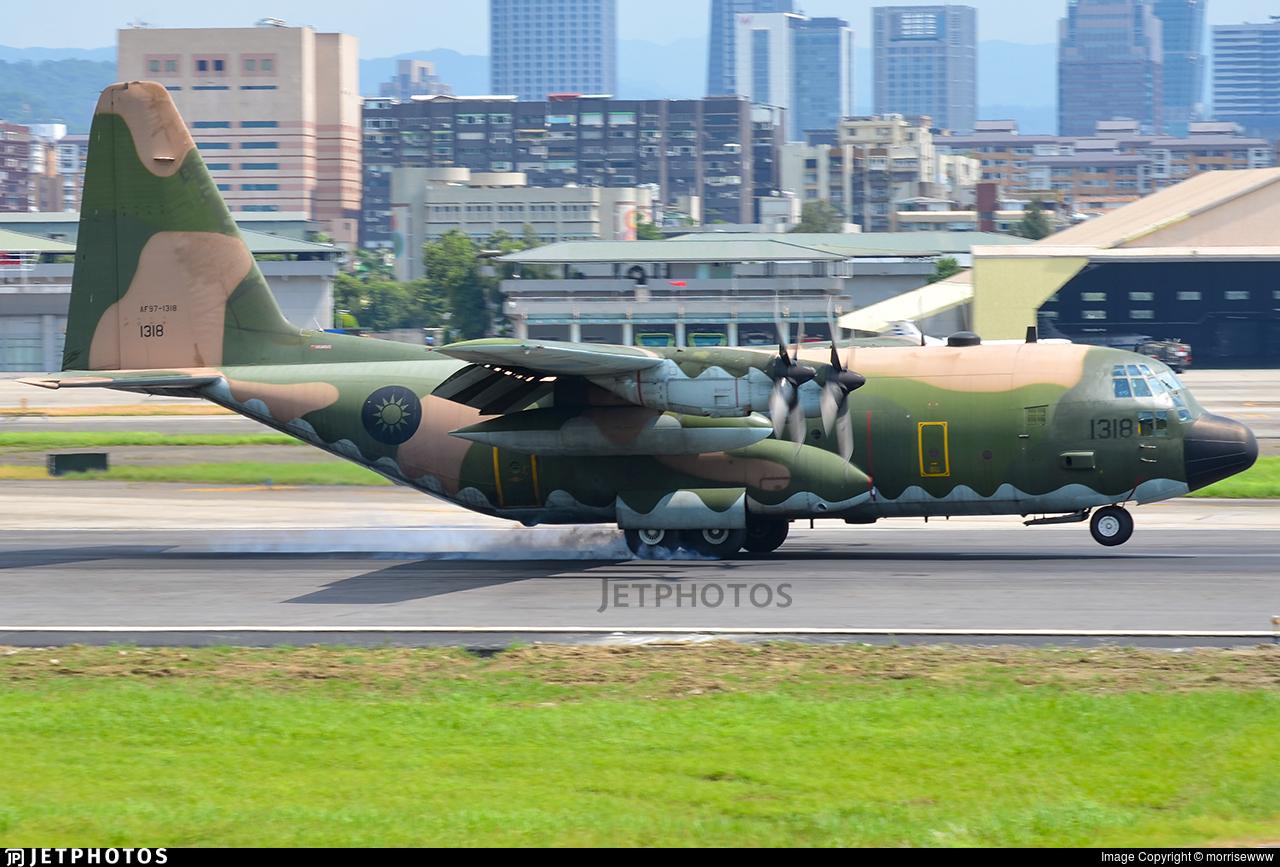 1318 - Lockheed C-130H Hercules - Taiwan - Air Force