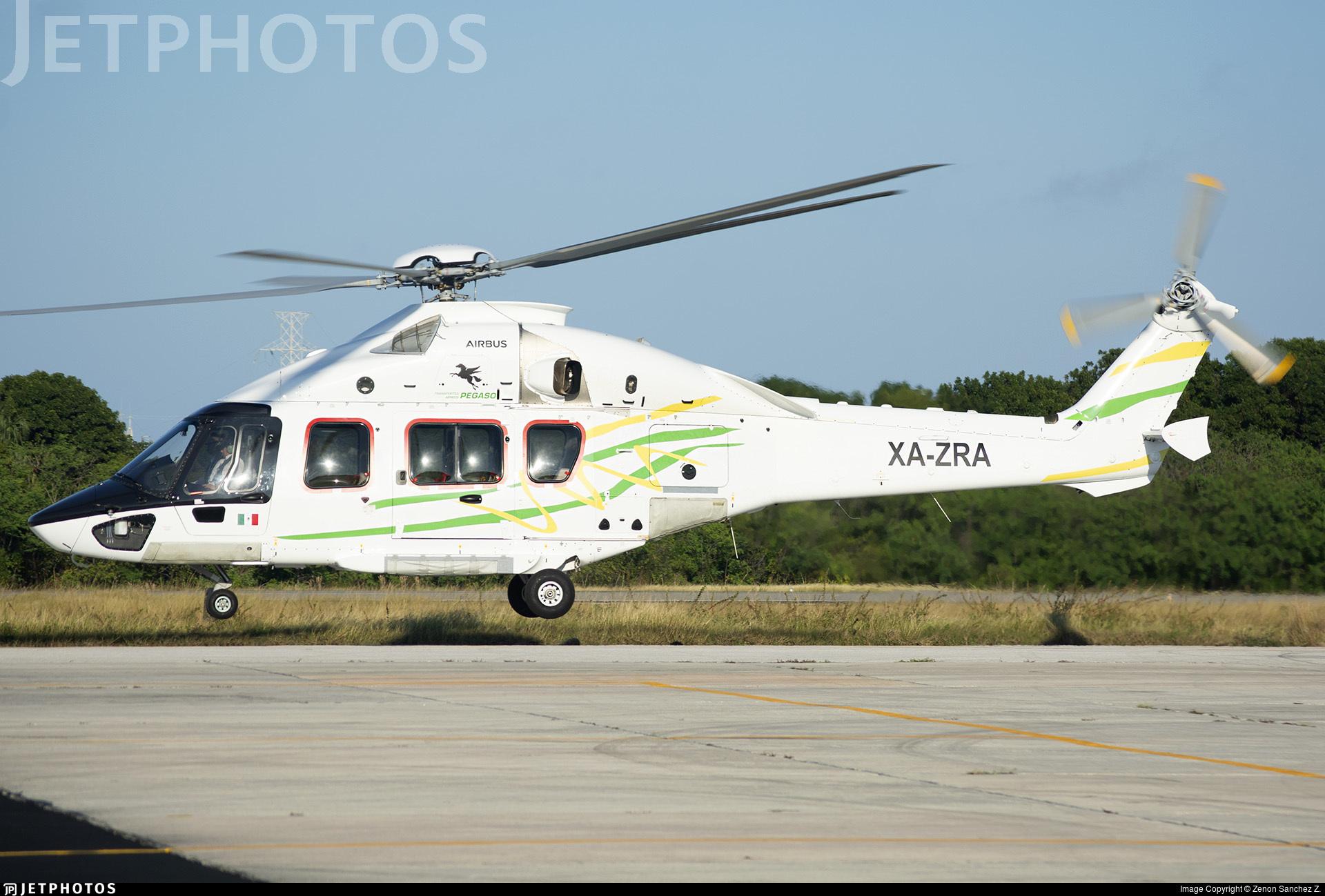 XA-ZRA - Airbus Helicopters H175 - Transportes Aéreos Pegaso