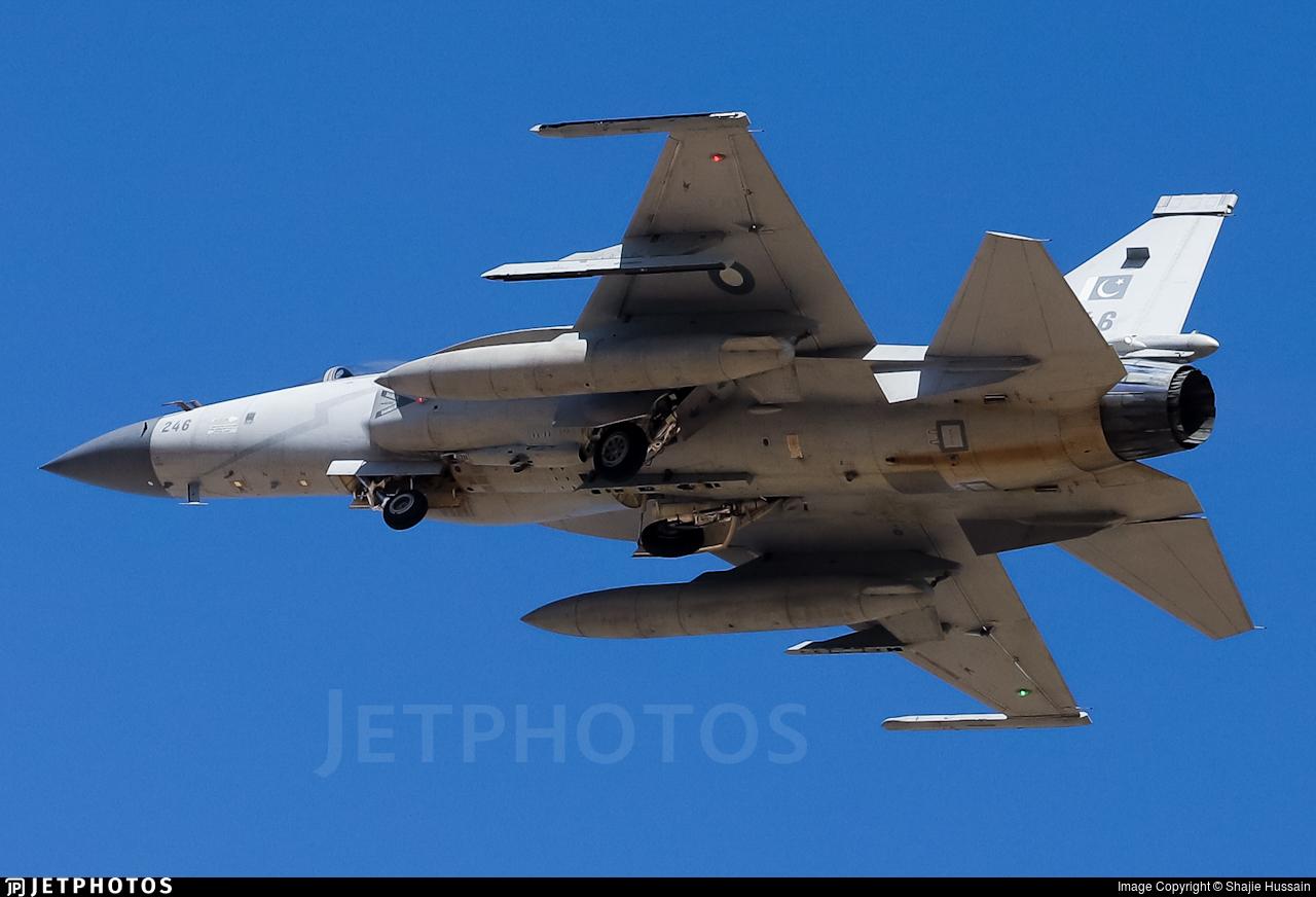 17-246 - Chengdu JF-17 Thunder - Pakistan - Air Force