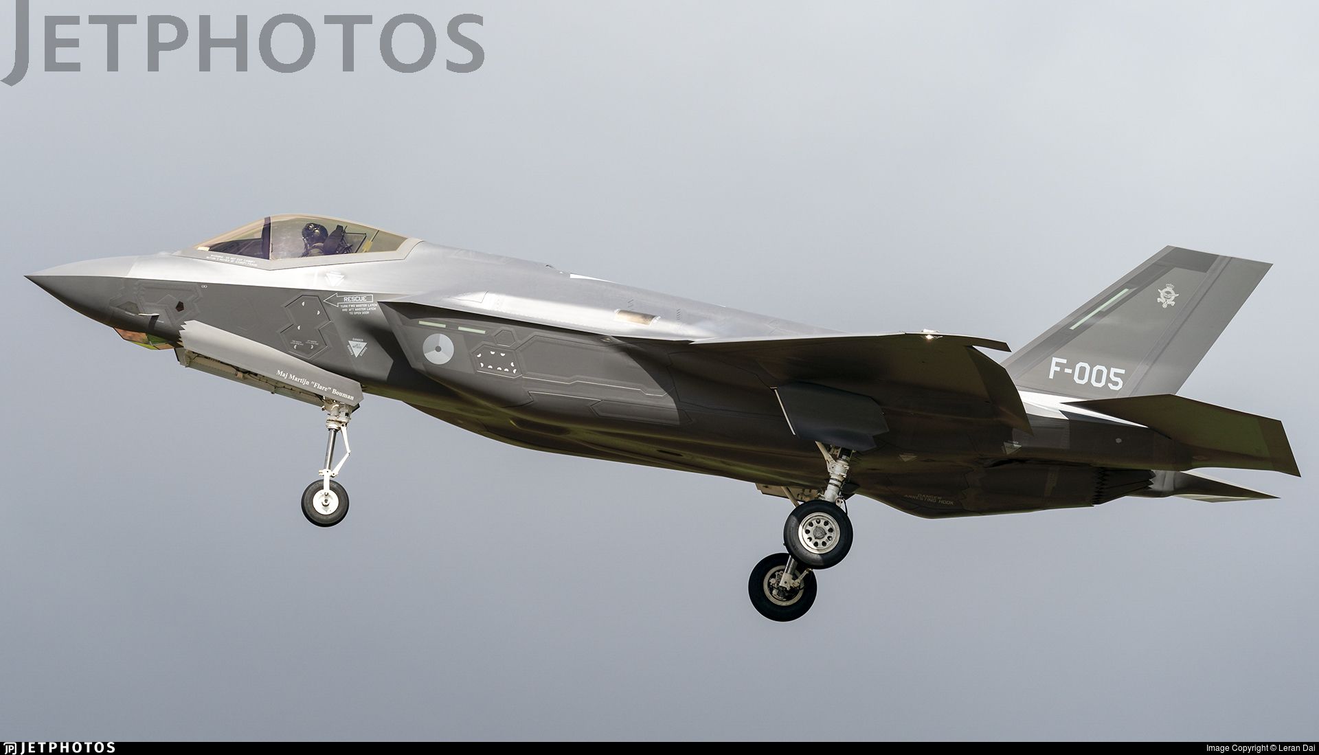 F-005 - Lockheed Martin F-35A Lightning II - Netherlands - Royal Air Force