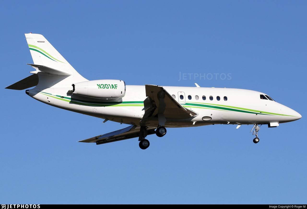 N301AF  - Dassault Falcon 2000 - Private