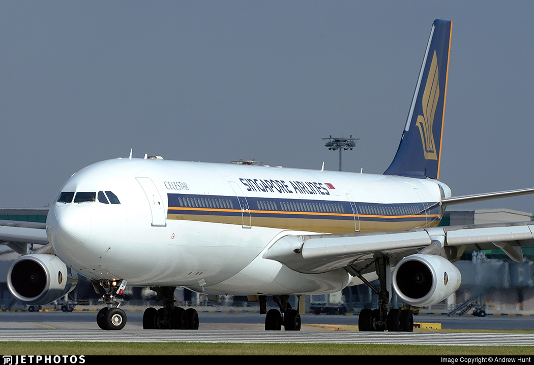 9V-SJI - Airbus A340-313X - Singapore Airlines