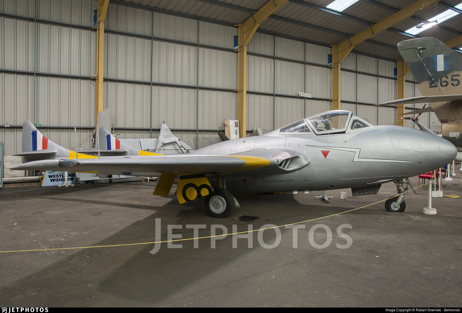 WZ518 - De Havilland Vampire T.11 - United Kingdom - Royal Air Force (RAF)