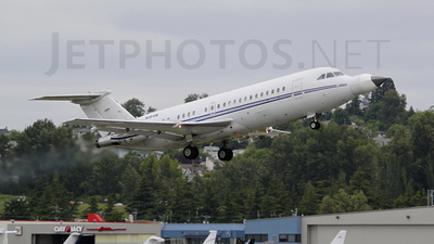 N164W - British Aircraft Corporation BAC 1-11 Series 401AK - Northrop Grumman
