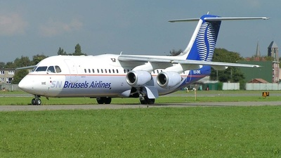 OO-DWE - British Aerospace Avro RJ100 - SN Brussels Airlines